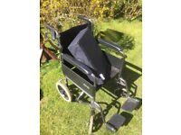 Wheel chair with cushion