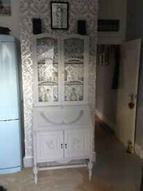 Shabby chic bureau bookcase ideal project