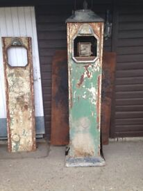 Antique Petrol Pump Barn Find