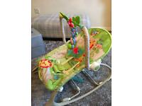 Fisher Price Rainforest Friends Infant To Toddler Rocker RRP £59.99