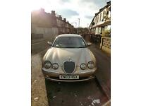Superb Jaguar S type to quick quick sell for no space to park....Full Jaguar service history