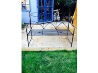 Garden Bench - cast metal