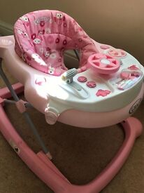 Graco Pink Baby Walker Good Condition
