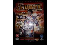 Signed chubby brown dvd