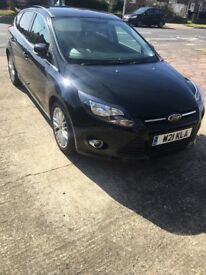 Ford Focus with fitted SatNav, Reverse parking sensors and Bluetooth