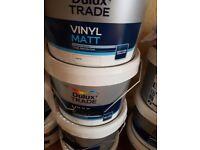 Dulux trade vinyl Matt 10L for sale
