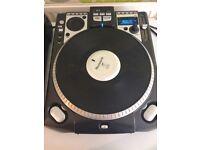 Numark CDX CD DJ Turntable With Vinyl Scratch Surface