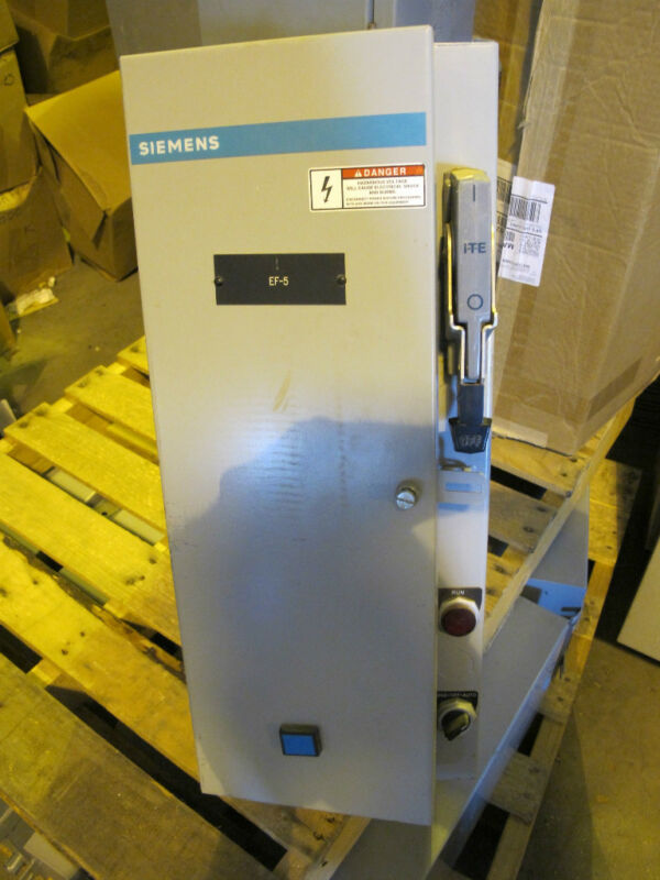 Siemens Size 00 Combo Mag Starter With Electronic Overload