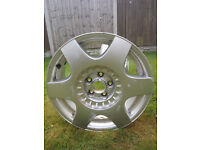 "Oroginal used VW VOLKSWAGEN NEW BEETLE 2x 16"" ALLOY WHEEL 6.50Jx16 ET42"