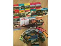 collection of train pocket books