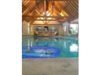 LUXURY PRIVATE INDOOR SWIMMING POOL FOR 5 PEOPLE AT A TIME