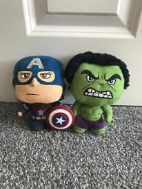 Plush superheroes NEW