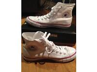 New Converse All Star Hi-top White