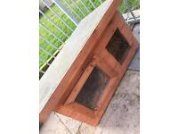 Mini pet kennel/house with window