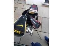 Callaway Golf clubs bag driver putter irons