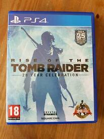 Rise of the Tomb Raider (Tomb Raider 2), PS4