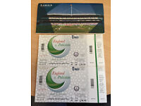 2 Lords tickets for the England Vs Pakistan 27th August (Saturday) @ £125 each