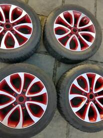 Nissan juke alloys and tyres