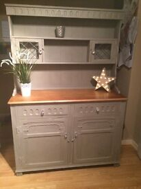 Lovely grey Welsh dresser sideboard