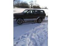 ISUZU TROOPER Long wheelbase