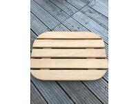 Wooden shower tray(caravan)