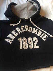 Men's size L Hollister & Ambercrombie hoody & shirt