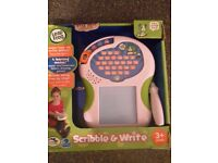 Leap frog scribble and write for sale