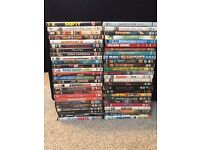 Collection of 52 DVD's
