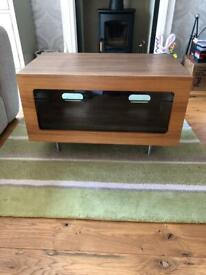 3 Tier black glass TV/game console stand | in Maidenhead, Berkshire