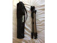Hama Star 61 Aluminium Camera / Video Camera Tripod + Bag
