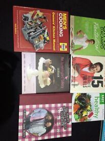 10 cookery books £10!