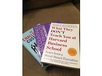 Three business books
