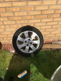 Corsa c alloy just the one