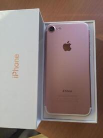 iPhone 7 32GB Rose Gold excellent O2 , tesco