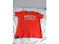 MEN'S HENLEY'S T SHIRT - SIZE 2