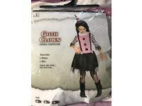 Goth Clown costume