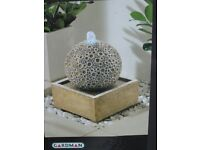 Brand new Gardman LED illuminated Coral springs water feature ext/interior