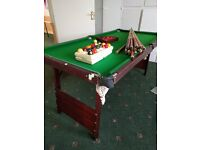 Half Size Snooker / Pool Table