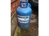 Full bottle 15kg butane collection rotherham