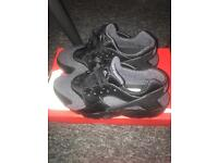 Grey and Black Huaraches size 5.5