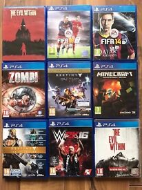 playstation 4 (ps4) games , £10 each ! price stands , no offers ! NEW TITLES ADDED DAILY !