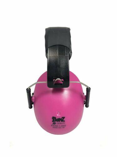 Ear Protection for kids - Kids Earmuffs - Pink - Saftey Earm