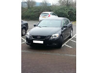 Lexus GS300 3.0 V6 6 Speed auto Black with Black Leather 2005