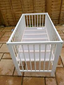 NEW!!!!!! IKEA COT. Now sold