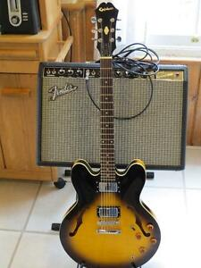 2000 Epiphone Dot (335) with snazzy new pickups