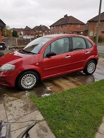 **REDUCED ASKING PRICE ** Citreon c3 2003 1.6 ltr still drives needs work doing
