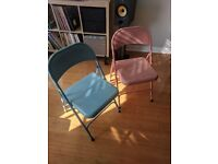 Two Habitat garden chairs