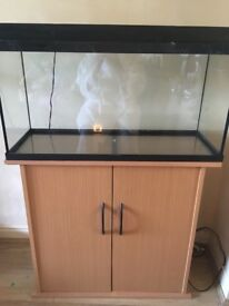 Juwel Rekord 96 fish tank and stand