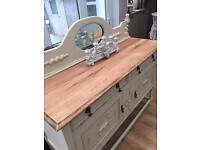 Refurbished antique sideboard