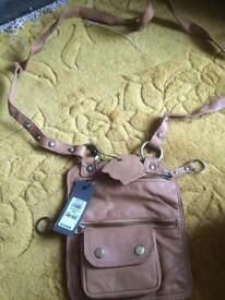 Bnwt leather river island bag